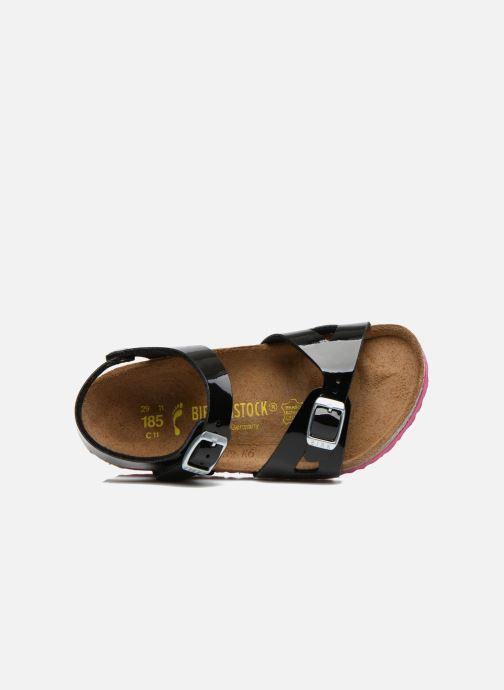 Sandali e scarpe aperte Birkenstock Rio Nero immagine sinistra
