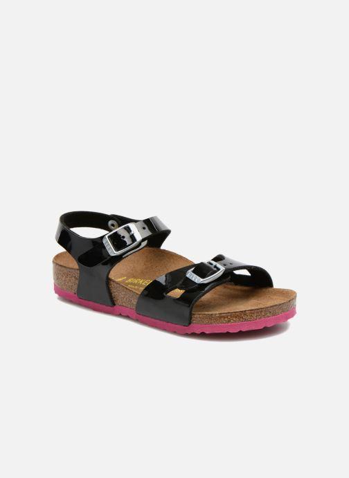 Sandalen Birkenstock Rio schwarz detaillierte ansicht/modell