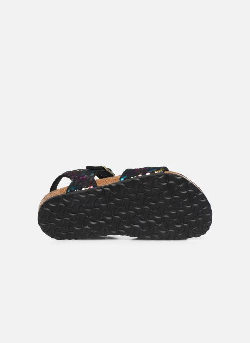 Sandalen Birkenstock Rio schwarz ansicht von oben