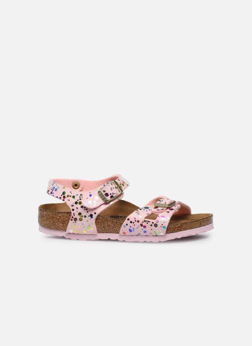Sandali e scarpe aperte Birkenstock Rio Rosa immagine posteriore