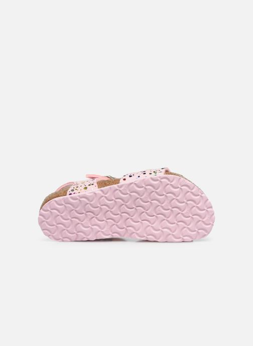 Sandales et nu-pieds Birkenstock Rio Rose vue haut