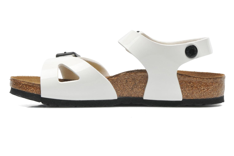 Sandales et nu-pieds Birkenstock Rio Blanc vue face