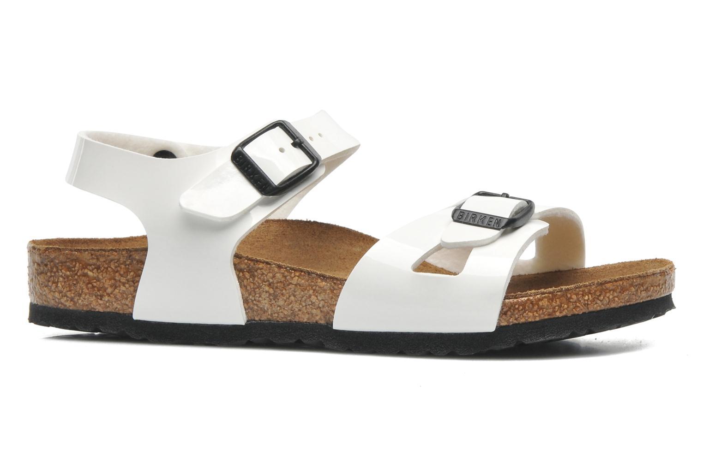 Sandales et nu-pieds Birkenstock Rio Blanc vue derrière
