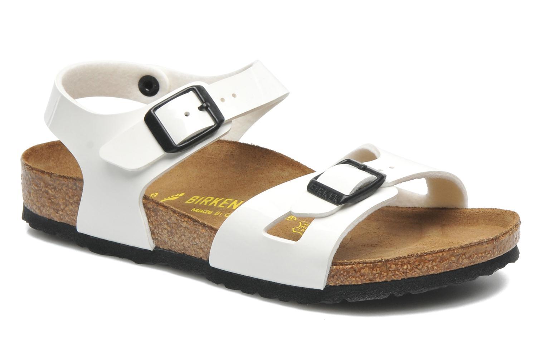 Sandales et nu-pieds Birkenstock Rio Blanc vue détail/paire