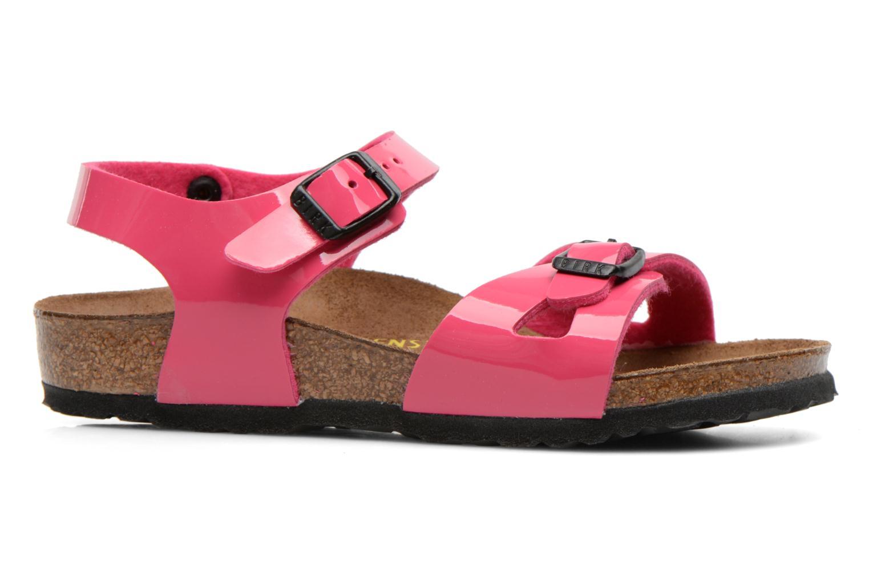 Sandalen Birkenstock Rio rosa ansicht von hinten