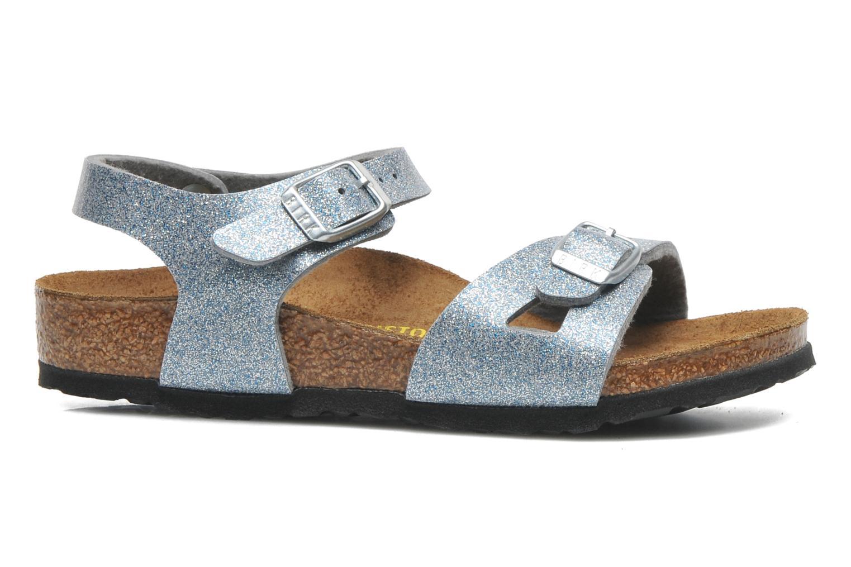 Sandales et nu-pieds Birkenstock Rio Argent vue derrière