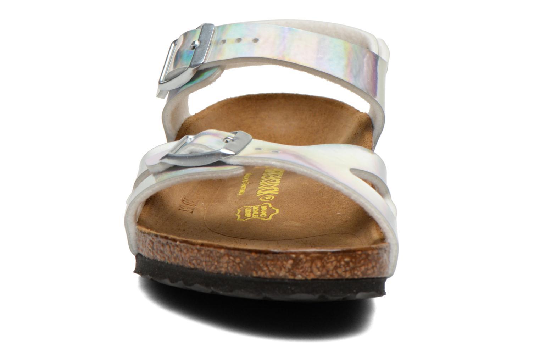 Sandals Birkenstock Rio Silver model view