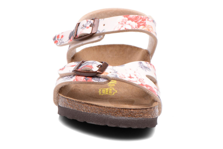 Sandales et nu-pieds Birkenstock Rio Multicolore vue portées chaussures