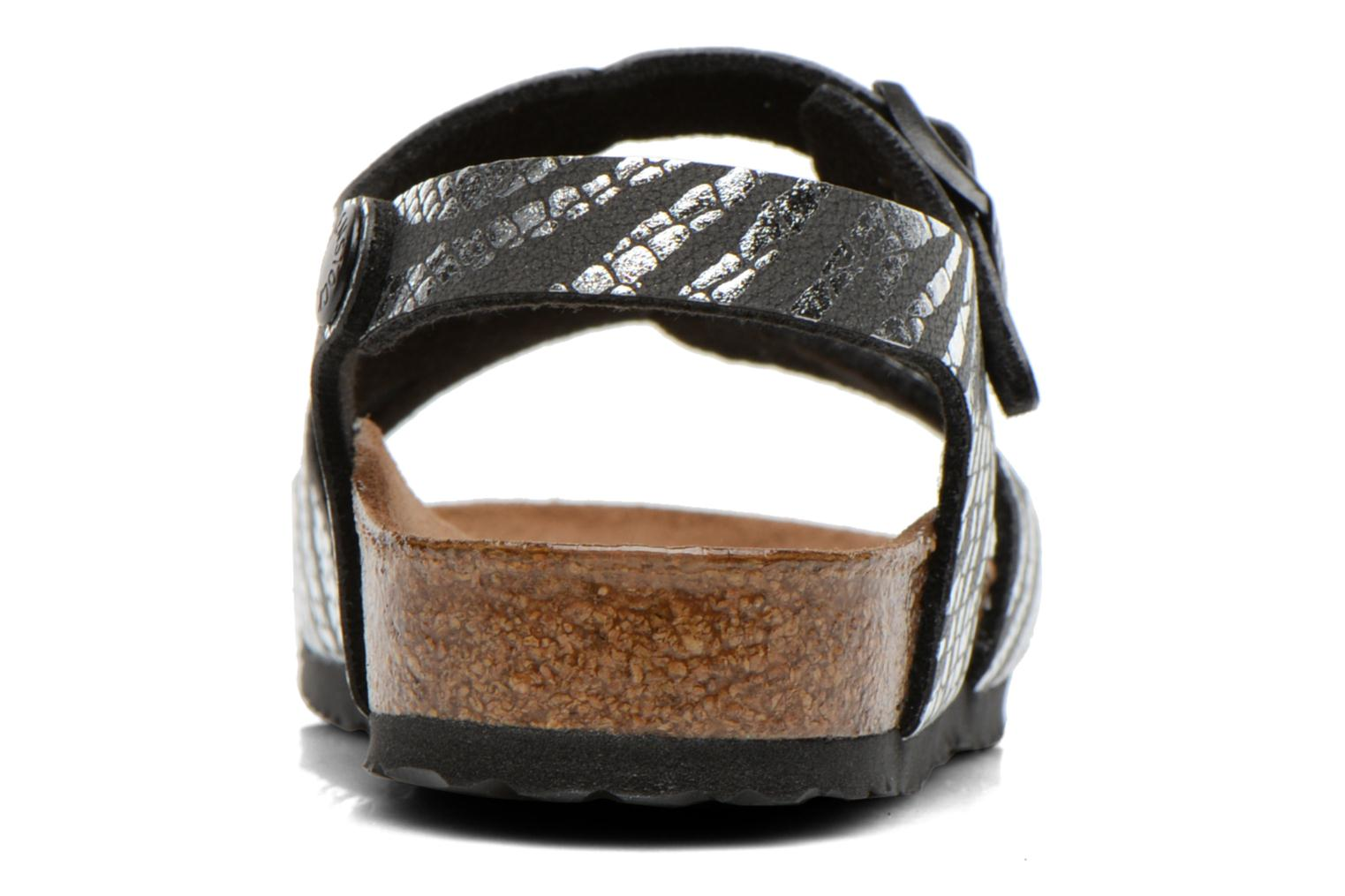 Sandals Birkenstock Rio Silver view from the right
