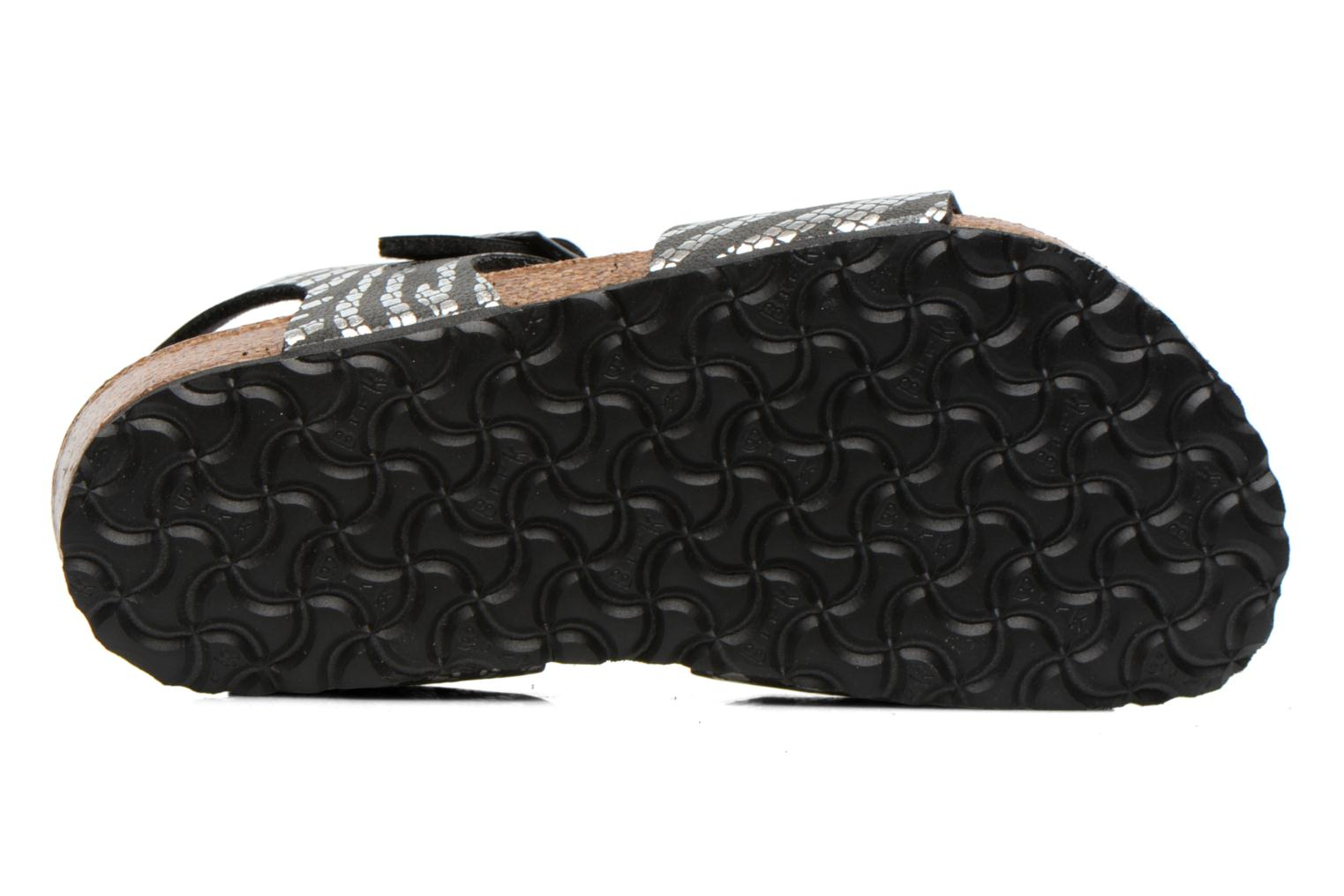 Sandals Birkenstock Rio Silver view from above