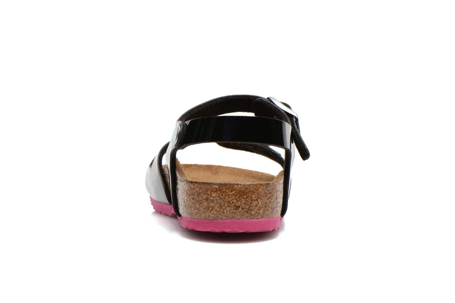 Sandals Birkenstock Rio Black view from the right