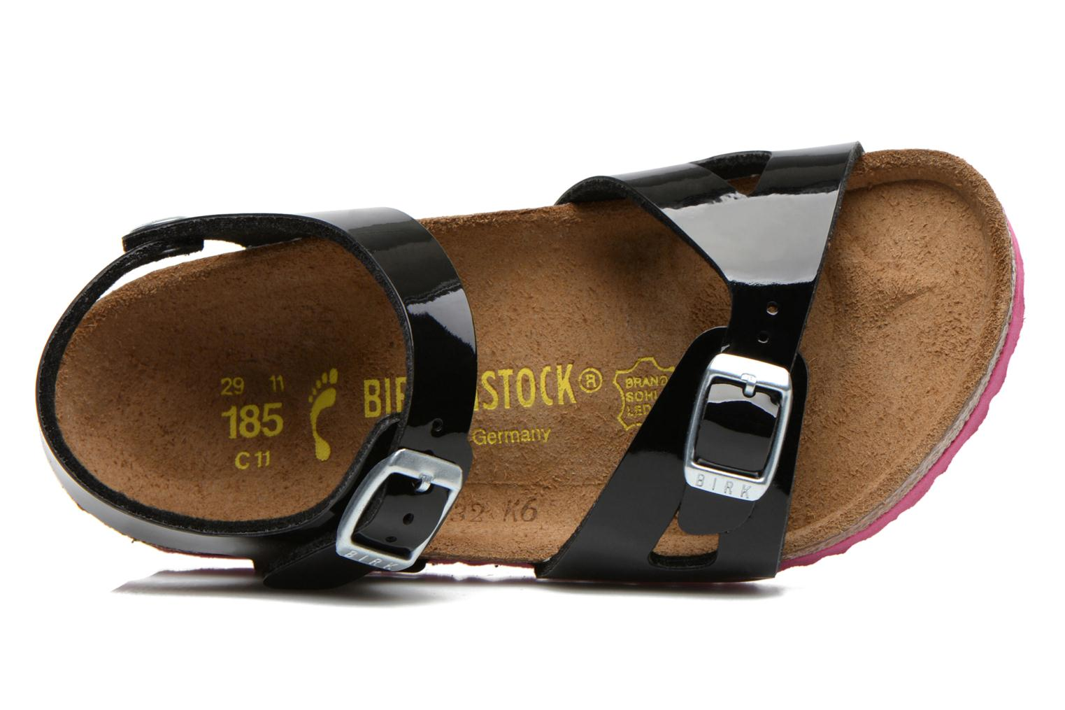 Sandals Birkenstock Rio Black view from the left
