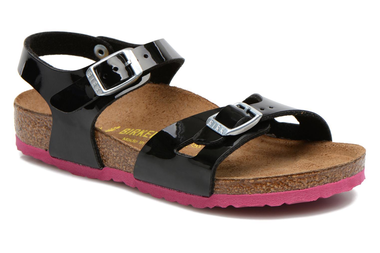Birkenstock Rio (Nero) - Sandali e scarpe aperte chez Sarenza (216135) 0e7dfbc98a0