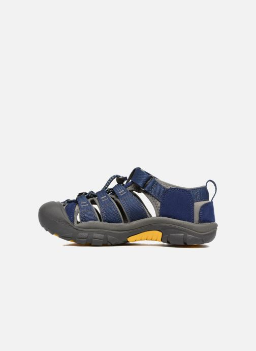 Sandales et nu-pieds Keen Newport H2 Bleu vue face