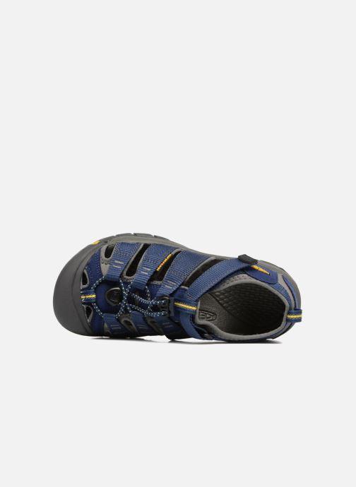 Sandales et nu-pieds Keen Newport H2 Bleu vue gauche