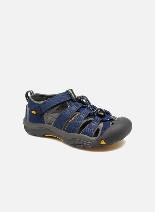 Sandales et nu-pieds Keen Newport H2 Bleu vue détail/paire