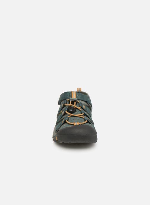 Sandales et nu-pieds Keen Newport H2 Vert vue portées chaussures