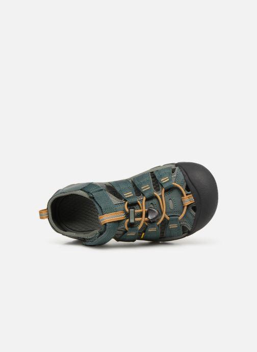 Sandales et nu-pieds Keen Newport H2 Vert vue gauche