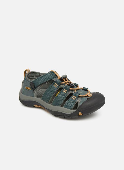 Sandales et nu-pieds Keen Newport H2 Vert vue détail/paire