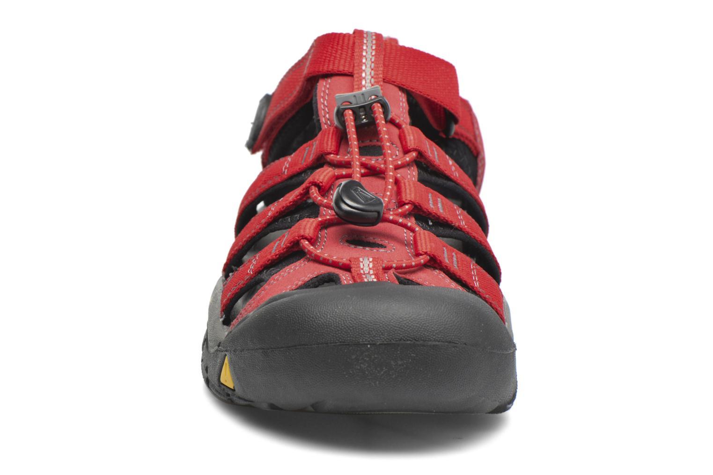 Sandaler Keen Newport H2 Röd bild av skorna på