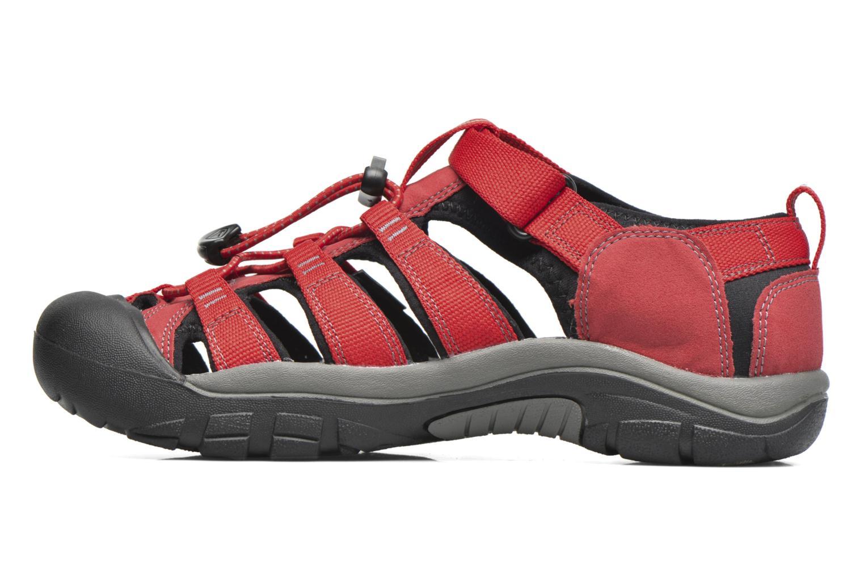 Sandaler Keen Newport H2 Röd bild från framsidan