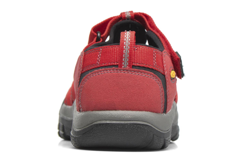 Sandaler Keen Newport H2 Röd Bild från höger sidan