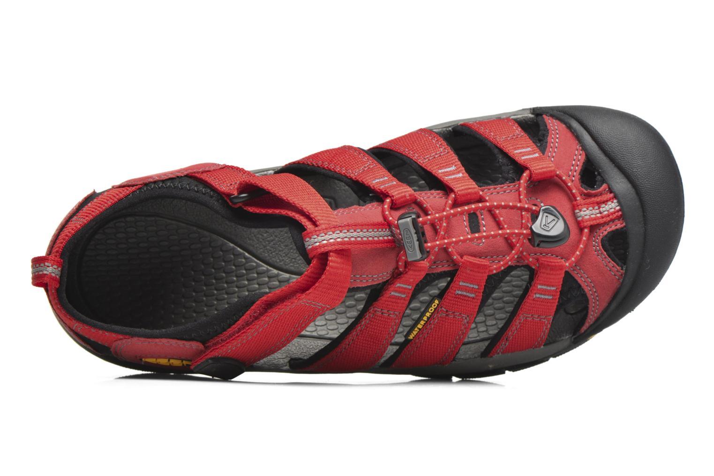 Sandaler Keen Newport H2 Röd bild från vänster sidan