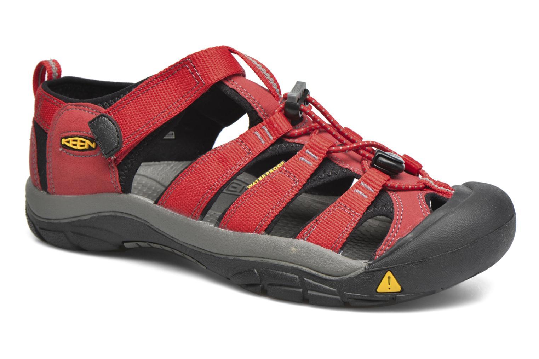 Sandaler Keen Newport H2 Röd detaljerad bild på paret
