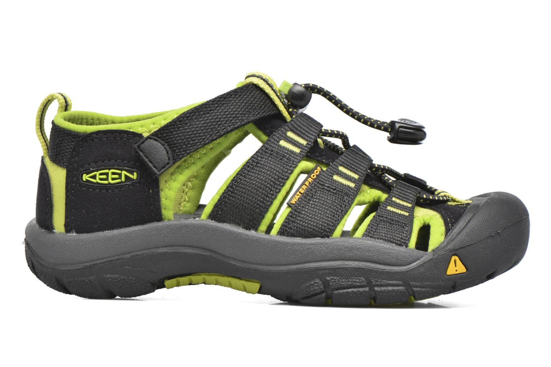 Sandales et nu-pieds Keen Newport H2 Noir vue derrière