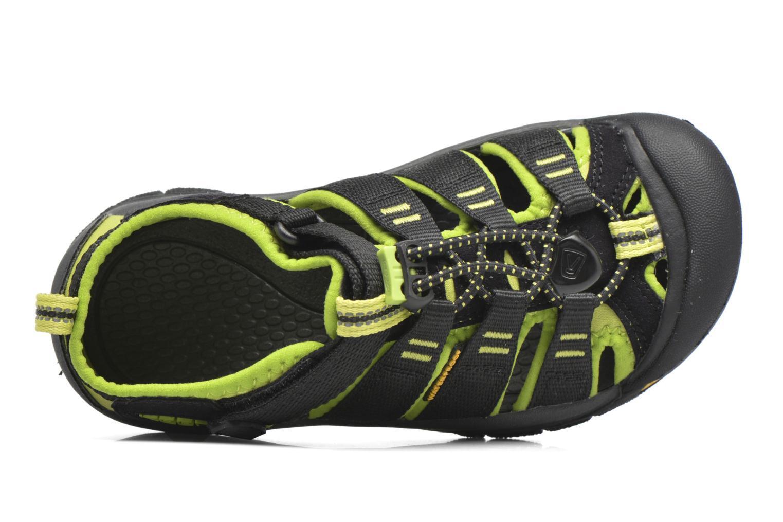 Sandales et nu-pieds Keen Newport H2 Noir vue gauche