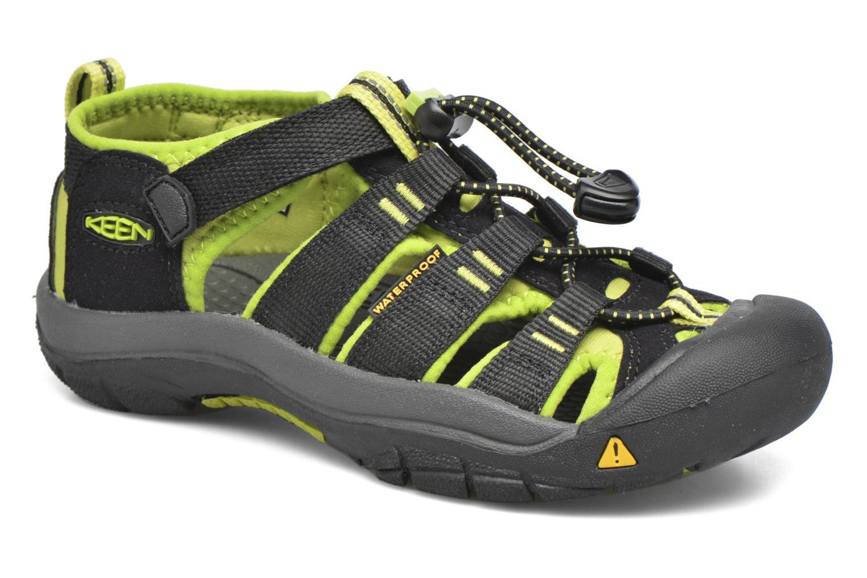 Sandaler Keen Newport H2 Svart detaljerad bild på paret