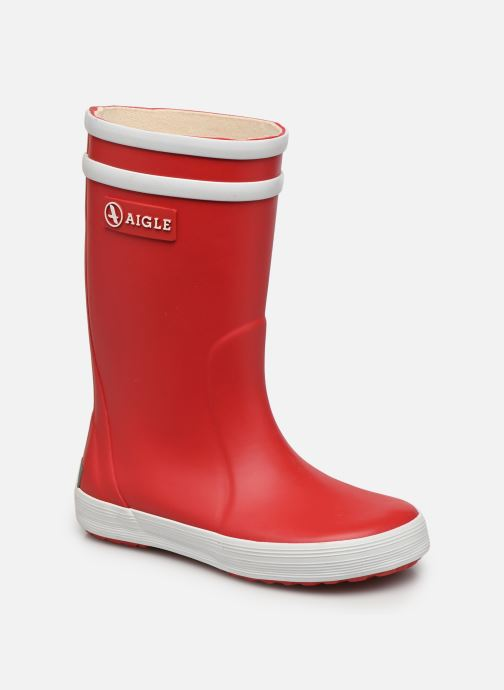 Stiefel Aigle Lolly Pop rot detaillierte ansicht/modell