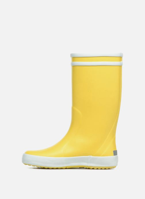 Boots & wellies Aigle Lolly Pop Yellow front view