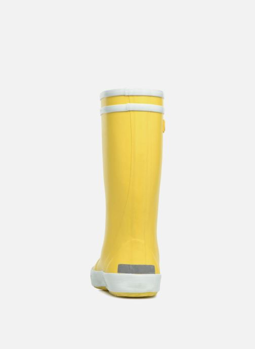 Boots & wellies Aigle Lolly Pop Yellow view from the right