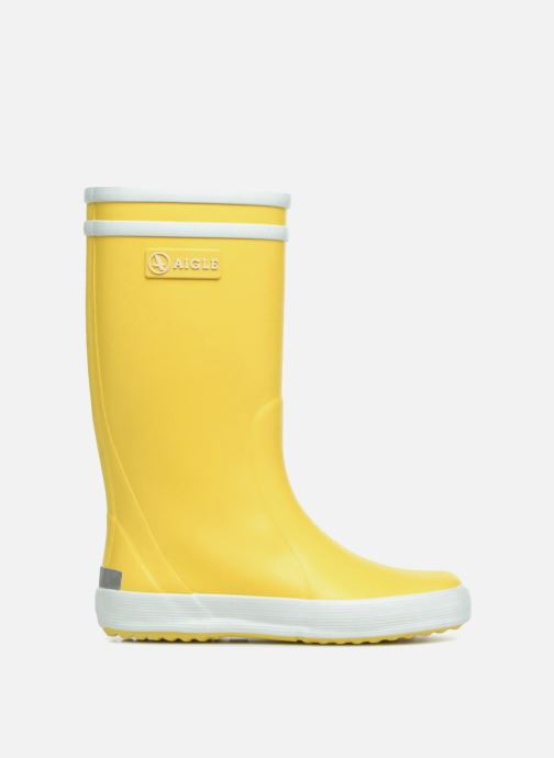 Boots & wellies Aigle Lolly Pop Yellow back view