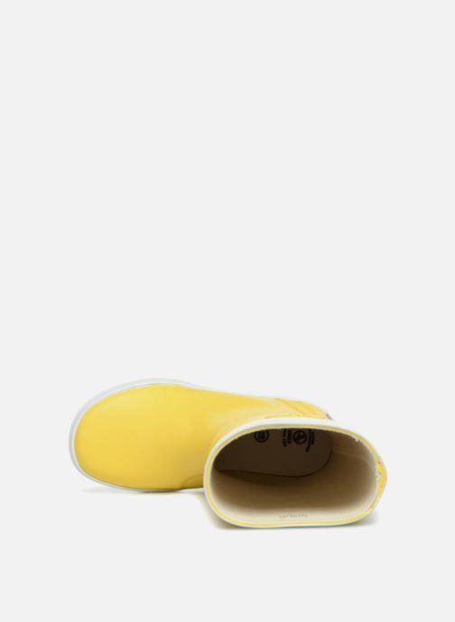 Botas Aigle Lolly Pop Amarillo vista lateral izquierda