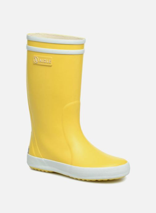 Boots & wellies Aigle Lolly Pop Yellow detailed view/ Pair view