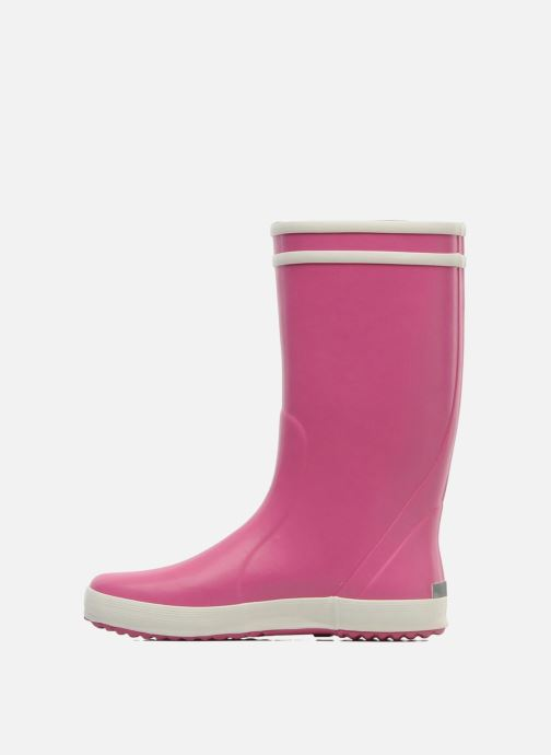 Bottes Aigle Lolly Pop Rose vue face