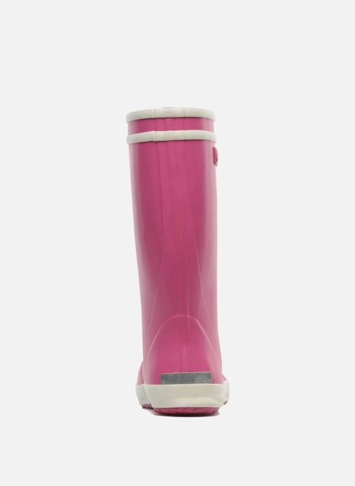 Boots & wellies Aigle Lolly Pop Pink view from the right