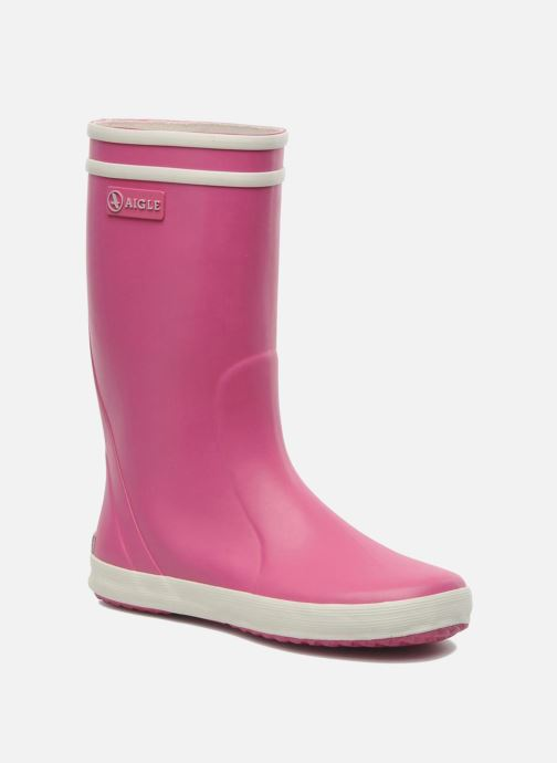 Boots & wellies Aigle Lolly Pop Pink detailed view/ Pair view
