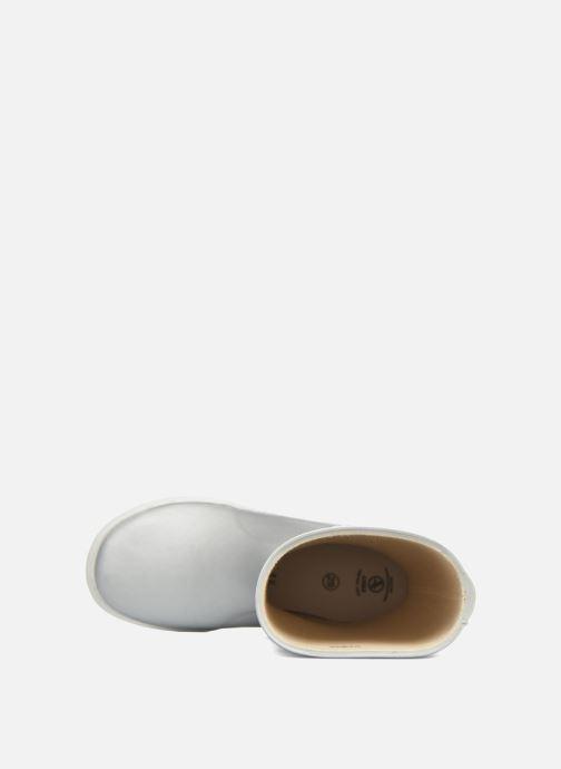 Stiefel Aigle Lolly Pop grau ansicht von links