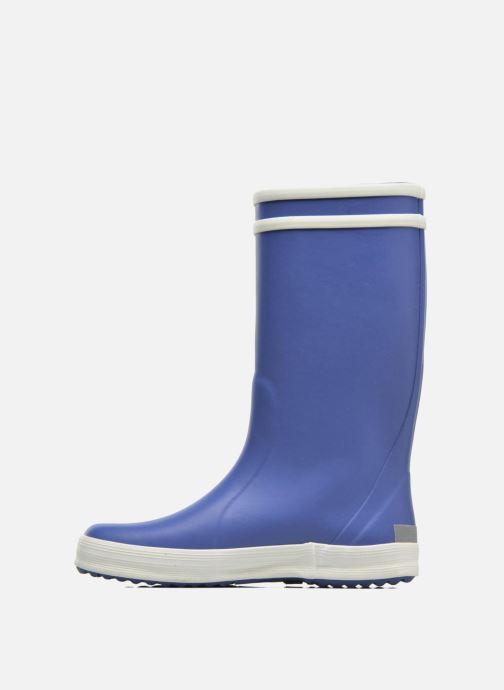 Stiefel Aigle Lolly Pop blau ansicht von vorne