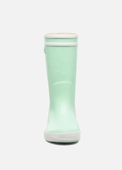 Stiefel Aigle Lolly Pop grün schuhe getragen