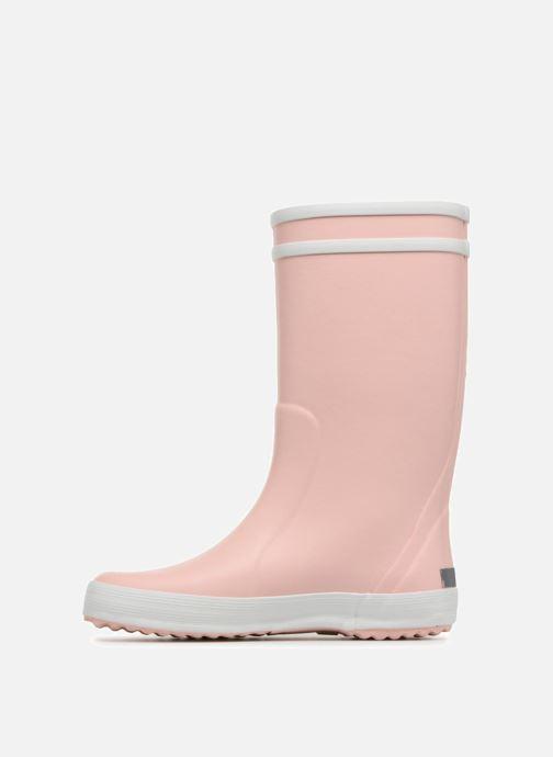 Støvler & gummistøvler Aigle Lolly Pop Pink se forfra