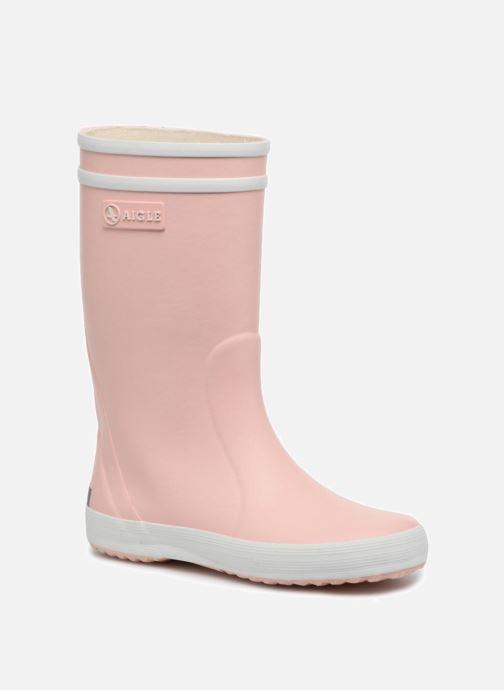 Støvler & gummistøvler Aigle Lolly Pop Pink detaljeret billede af skoene