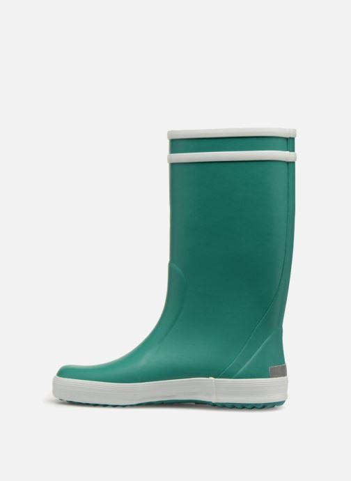 Stiefel Aigle Lolly Pop grün ansicht von vorne