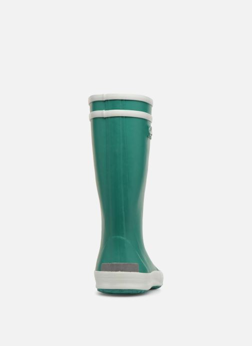 Boots & wellies Aigle Lolly Pop Green view from the right