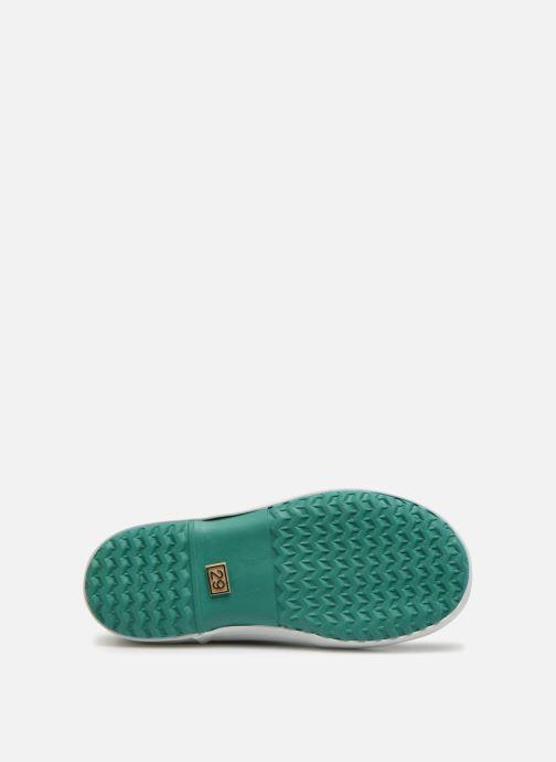 Stiefel Aigle Lolly Pop grün ansicht von oben