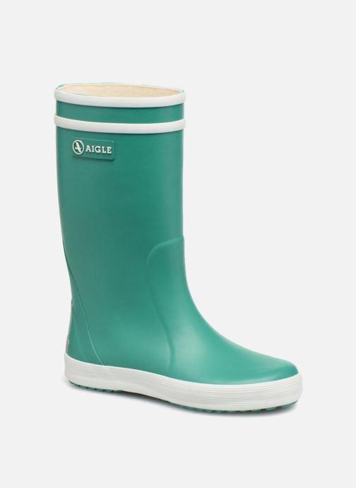 Støvler & gummistøvler Aigle Lolly Pop Grøn detaljeret billede af skoene