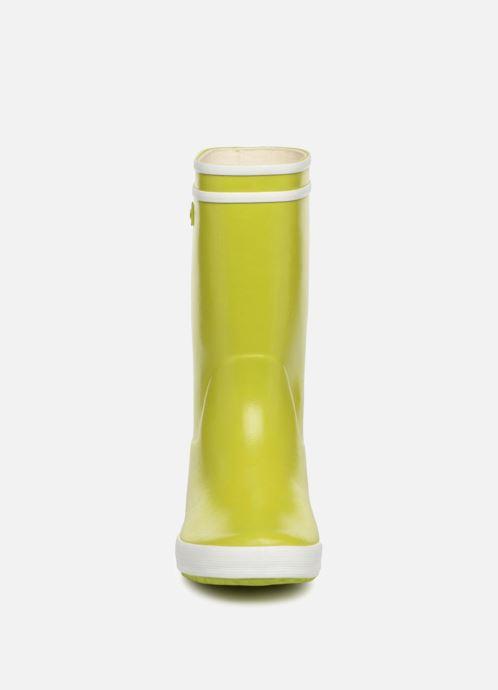 Bottes Aigle Lolly Pop Vert vue portées chaussures